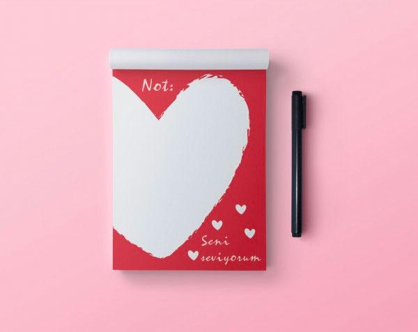 Aşk Notları Bloknot