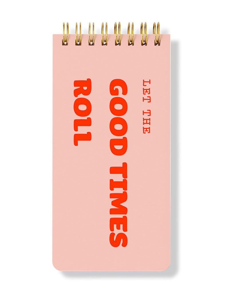 Let The Good Times Roll - Spiral Bloknot - Spiral Notepad