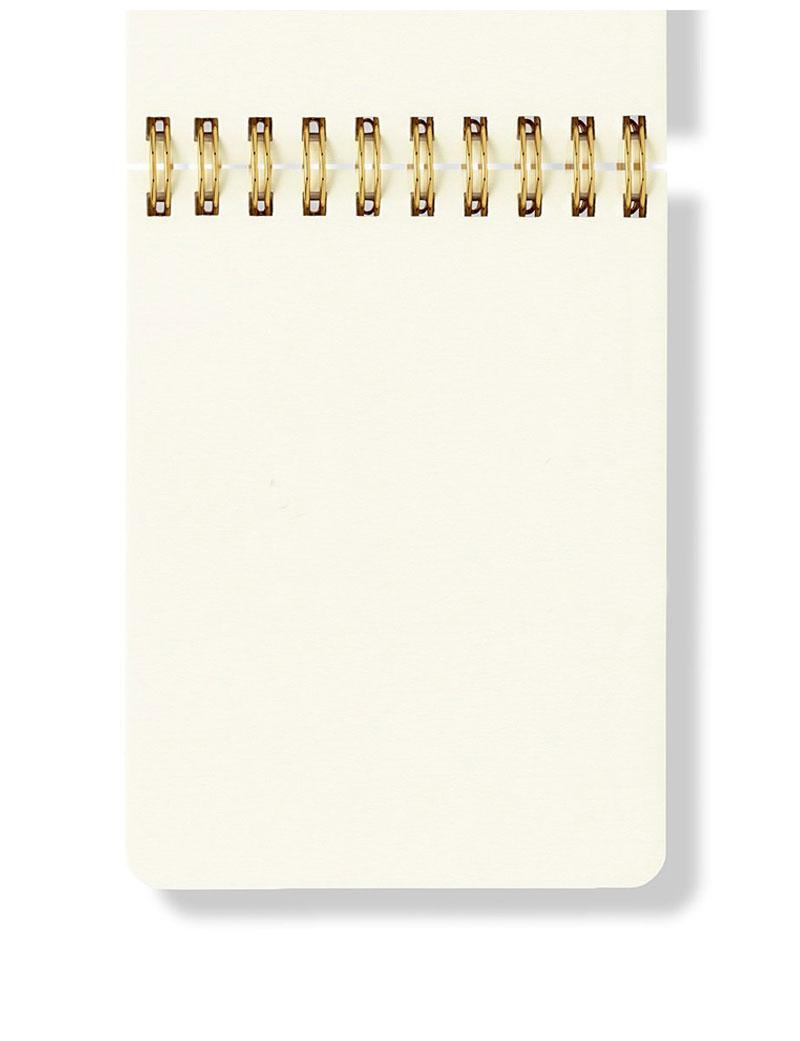Spiral Notepad İç Sayfa Tasarımı