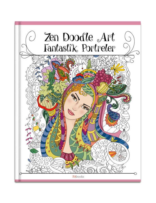 Zen Doodle Fantastik Portreler