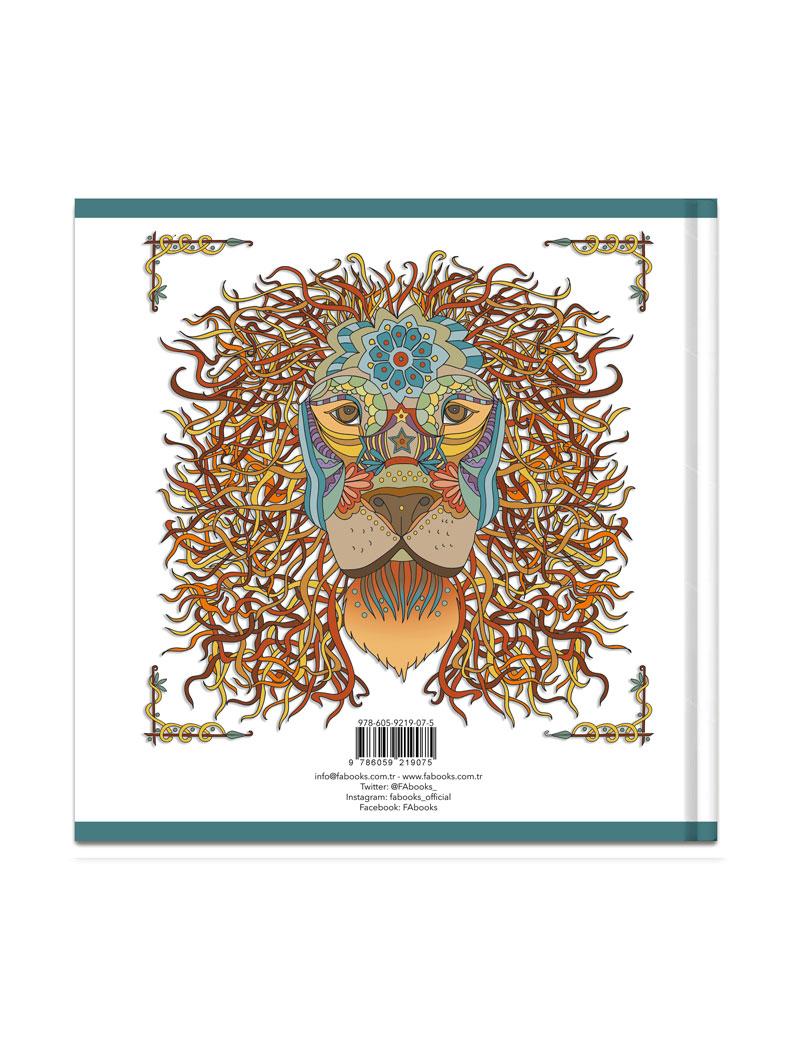 Hayvanseverler İçin: Art Nouveau – Hayvanlar Alemi Boyama Kitabı