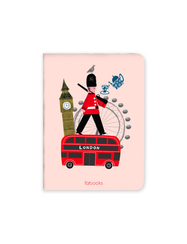 London Mini Defter