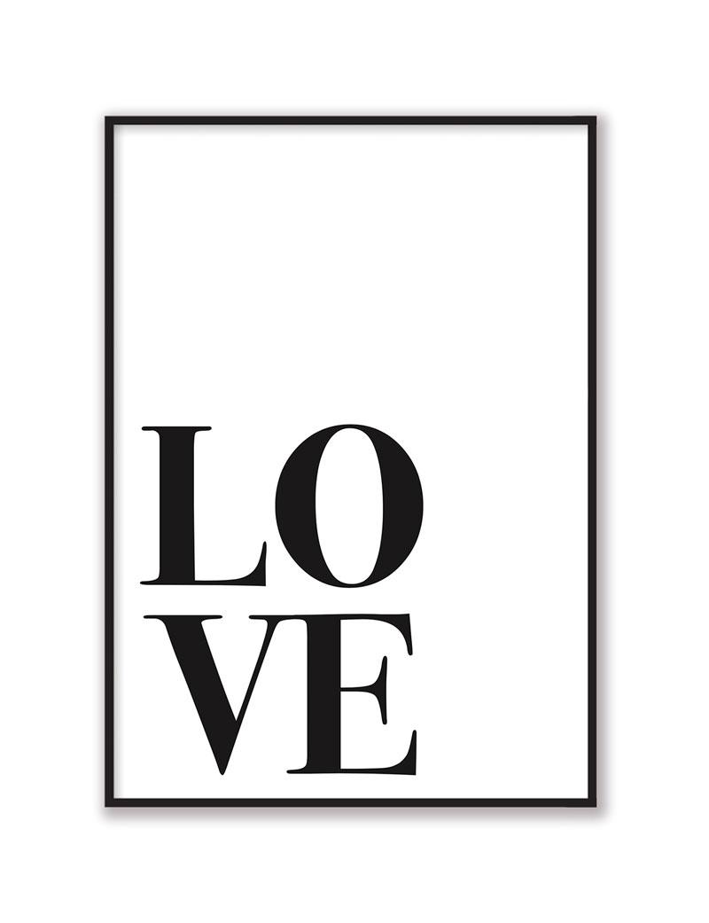 Love Big Duvar Tablosu
