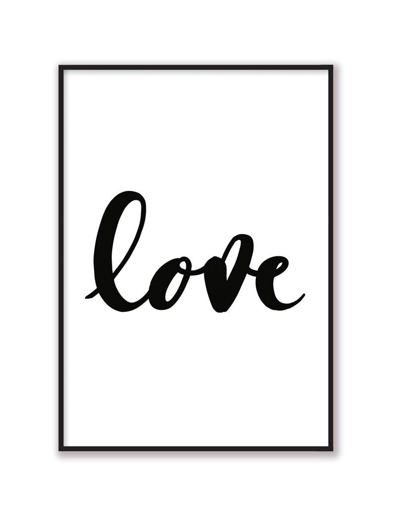 Love Duvar Tablosu