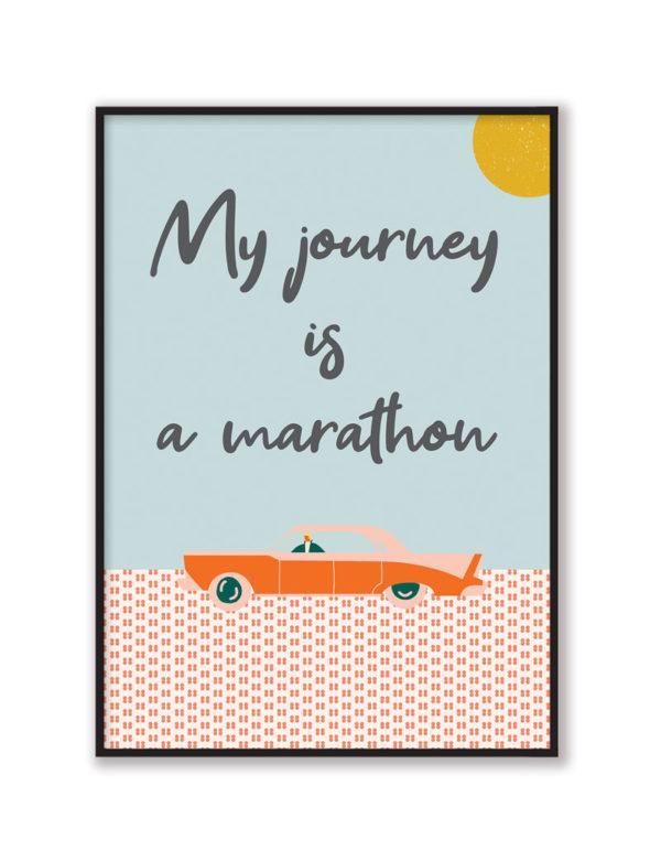 My Journey Duvar Tablosu