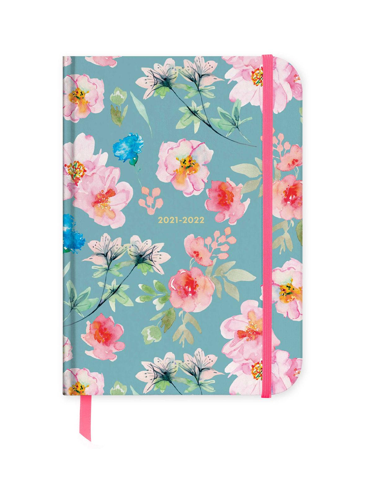 Pembe ve Mavi Çiçekler